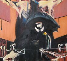 Francis Bacon Tribute by Rayven Collins