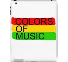 colors of music iPad Case/Skin