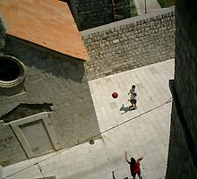 From the wall, Dubrovnik, 2003 by Donald Williams