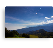 High Up In The Cajas Range Of The Andes Canvas Print