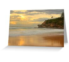 Days Gone By - Warriewood Beach - The HDR Experience Greeting Card