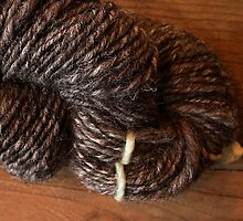 Handspun Jacob's Wool by Serina Patterson