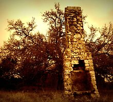 Old Chimney by Susan E. Adams