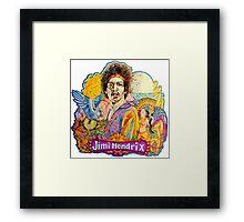 Jimi Hendrix - In the Beginning  Framed Print