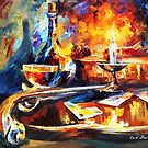 The Last Game — Buy Now Link - www.etsy.com/listing/223891992 by Leonid  Afremov