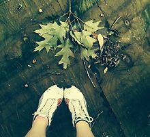 Walking on Forgotten Ground by Kateling-Arts