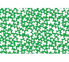 Clover Pattern Photographic Print