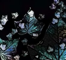 Blue Leaves by Loz Still