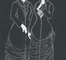 ruched mourning dresses by purplestgirl