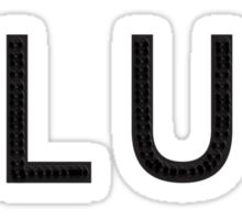 SLUT (Tank Top) Sticker