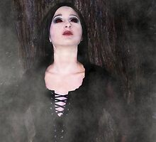 Gothic Glamour of The Night by warpedfashion
