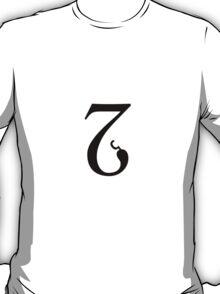 Typeface combination design #3 T-Shirt