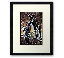 Robot Angel Painting 009 Framed Print