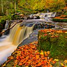 Crackpot Waterfalls - Autumnal Beauty by antonywilliams
