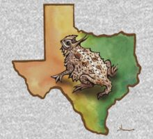 Texas Horned Lizard by Theresa Bayer