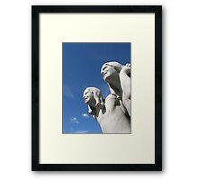 Sculptures by Gustav Vigeland, Oslo Framed Print