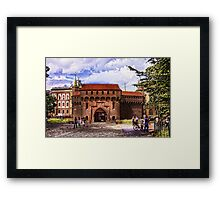 Barbican Cracow Framed Print