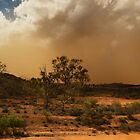 and then the dust storm rolls in by Pamela Inverarity