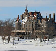 WINTRY BOLDT CASTLE by Lori Deiter