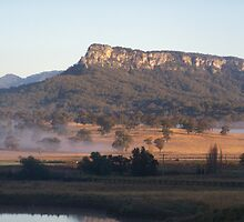 Fog below the hills by kirty