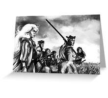 Seven Mutants Greeting Card