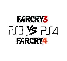 Ps3Fc3 Vs. Ps4Fc4 by FabiasXII