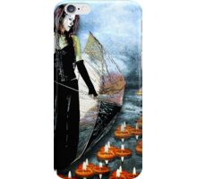PASSAGE OF LIGHT THROUGH THE STORM iPhone Case/Skin