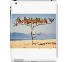 Brazilian Beach Tree iPad Case/Skin