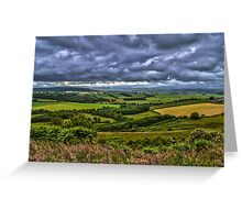 Northumberland Fields Greeting Card