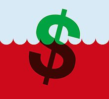 The Sinking Dollar by Reuben Whitehouse