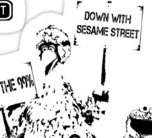 Occupy Sesame Street Sticker