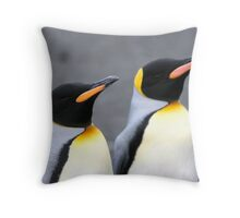 Penguin duo 1 Throw Pillow