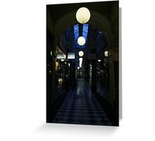 Arcade Nightlife Greeting Card