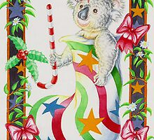 Multi Colored Stocking by Pete Morris