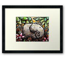 Ellie Elephant Framed Print