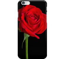 Red Rose Solitaire iPhone Case/Skin