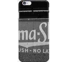 Baseball Field - Burma Shave iPhone Case/Skin