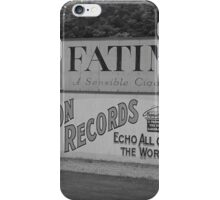 Old Time Baseball Field iPhone Case/Skin