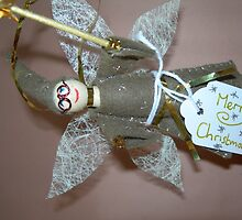 Fairy Doll Christmas Tree Decoration by Amandasart1