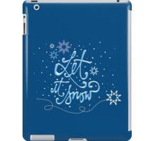 Let It Snow iPad Case/Skin