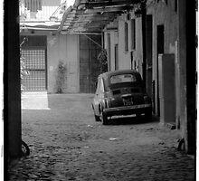 Fiat 500 B&W by Tony Cicero