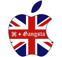 Apple Gangsta Photographic Print