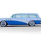 1956 Buick Century 'Low Rider' Wagon by DaveKoontz