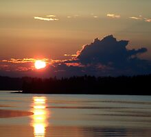 Early Summer Sunset by George Cousins