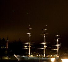 Stockholm at Night 2 (Sweden) by Antanas