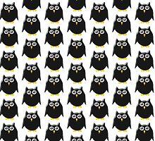 Black Owl Design by biglnet