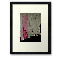 Stage Wardrobe. Framed Print