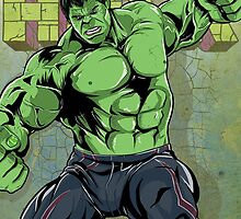 The Incredible Hulk by averagejoeart