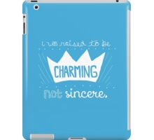 Prince Charming Into The Woods iPad Case/Skin