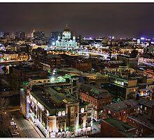 Roofs, horizons and streetlights by Maistora